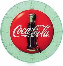 Mark Feldstein Coca Cola Bottle Runde Vintage Red