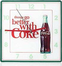 Mark Feldstein Coca Cola Bottle Wanduhr,