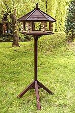 Marke neue exklusive Großer Tisch Holz Vogel Haus, Feeder, & Haus mit Ständer