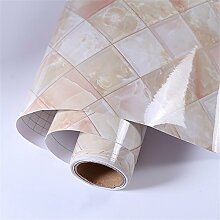 Marmor dekorative Folie Selbstklebende PVC-Tapete