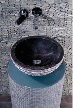 Marmor Naturstein, Aufsatz Waschbecken, Marmor NaturalBowl