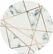 Marmor-Streifen-Muster Untersetzer für Getränke,
