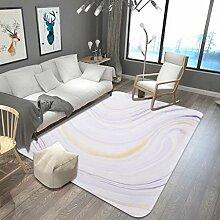 Marmorieren Teppich Wohnzimmer Couchtisch Sofa Schlafzimmer Nachttisch Blau Gemusterte Bodenmatte , 4 , 180x280cm