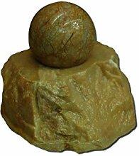 Marmorkugel Wasserspiel / Zimmerbrunnen 10 cm x 10 cm