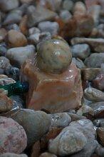 Marmorkugel Wasserspiel / Zimmerbrunnen 10 cm x 8,5 cm