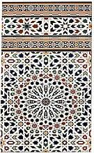Marokkanische Fliesen Bordüre Wandfliesen bunt 3