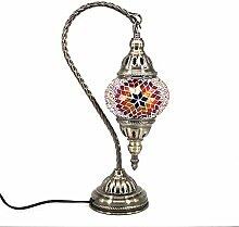 Marokkanische Lampe Mosaik Glaslampe Vintage für