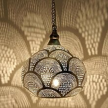 Marokkanische Lampe orientalische Hängelampe