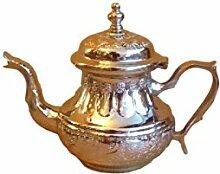 Marokkanische Teekanne Fes Ohne Beine-L