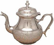 Marokkanische Teekanne Fes Ohne Beine-M