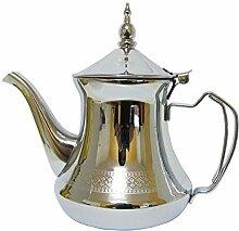 Marokkanische Teekanne Silber 650 ml