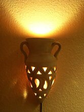 Marokkanische Wandlampe Amphore