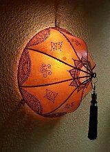 Marokkanische Wandlampe Anadil Orange