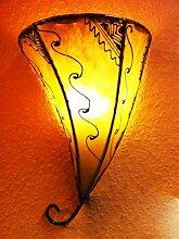Marokkanische Wandlampe Farhad Natur