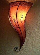 Marokkanische Wandlampe Suma Orange