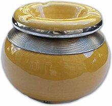 Marokkanischer Aschenbecher Gelb | marokkanische