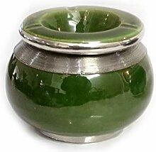 Marokkanischer Aschenbecher grün | marokkanische