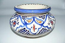 Marokkanischer Aschenbecher Keramik Windascher