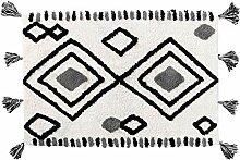 Marokkanischer Diamanten-Teppich, weicher und