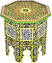 Marokkanischer Tisch Beistelltisch aus Holz Ourika