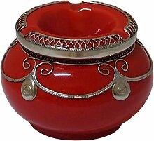 Marokkanischer Windaschenbecher Keramik Ro