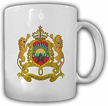 Marokko Wappen Emblem Königreich Marokko Afrika Kaffee Becher Tasse #13743