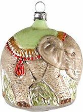 MAROLIN Glas Figur 'Elefant' patinier
