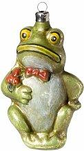 MAROLIN Glas Figur 'Frosch mit Fliege'