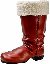 MAROLIN Nikolausstiefel mit Stulpe, groß,