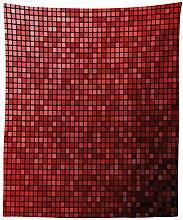 Maroon Tapisserie, abstrakte Mosaik Raster Ombre