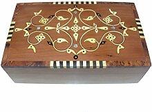 Marrakech Accessoires Holz Schatulle Kästchen