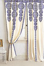 Marrakesch Vorhang - Blue
