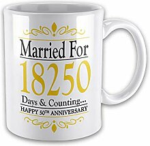 Married For.Days & Counting. (50th Golden) Novelty