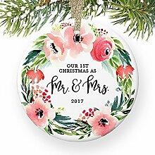 Married Paar Unsere 1st Christmas, wie Herr und