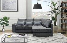 Mars Möbel Ecksofa Modern Eckcouch Couch Ralf mit