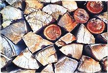 Mars & More fußmatte Holz