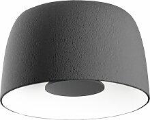 Marset Djembé  Deckenleuchte LED 65.45 Grau (h)