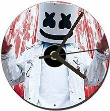 Marshmello Dj Tischuhren CD Clock 12cm