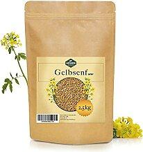 Martenbrown® Gelbsenf [2,5 kg] ganze Körner  