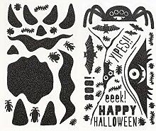 Martha Stewart Kürbis Aufkleber, Monsters Blättern