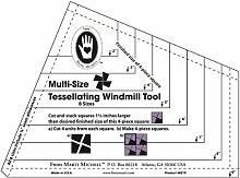 MARTI Michell Marti Michell Tessellating Windmühle