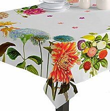 Martina Home Chrysantheme Tischdecke, Stoff,