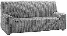 Martina Home Sofaüberwurf Mejico, Grau, 3-sitzig