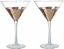 Martiniglas-Set Chugwater Ebern Designs Farbe: