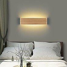 Martll Wandleuchte LED Holz Wandlampe Innen