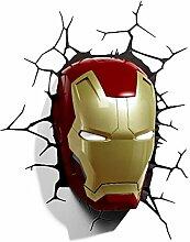 Marvel Avengers Iron man Mask Maske Helmet Helm 3D