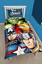 Marvel Avengers Tech Bettwäsche-Set für