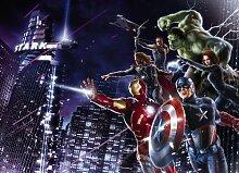 Marvel Comic Heroes - Fototapete Bildtapete - Hulk