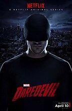 Marvel Daredevil Season 3 Poster auf