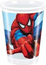 Marvel Kindergeburtstag Dekoration Spiderman Becher Plastik Becher 8er Se